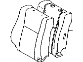 TOYOTA Genuine 71074-0C590-B1 Seat Back Cover