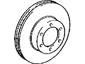 Toyota Brake Disc - 43512-0C020