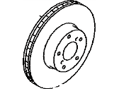 Toyota 86 Brake Disc - SU003-00586