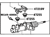 Toyota Highlander Master Cylinder Repair Kit - 47201-48190
