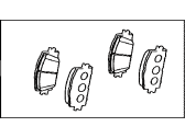 Toyota RAV4 Brake Pad Set - 04465-0R031