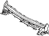 Toyota 55714-42011 Cowl Panel