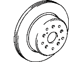 Toyota Brake Disc - 42431-14150