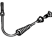 Toyota Corolla Parking Brake Cable - 46410-12160