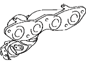 Toyota 17141-38021 Exhaust Manifold