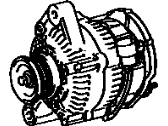 Toyota MR2 Alternator - 27020-16130