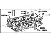 Toyota Prius Prime Cylinder Head - 11101-80000