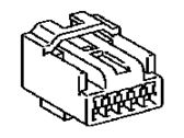 Toyota 90980-11909 HOUSING, CONNECTOR F