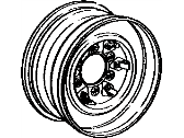 Toyota Spare Wheel - 42601-60081