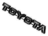TOYOTA 75321-90301 Radiator Grille Name Plate