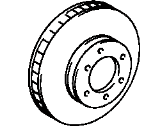 Toyota Brake Disc - 43512-0C011