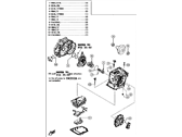 Scion Automatic Transmission Overhaul Kit - 04351-WB001