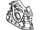 Toyota Tundra Oil Pump - 15101-62050
