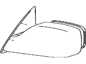Genuine Toyota 87910-07060-B0 Rear View Mirror Assembly