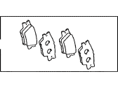 Toyota RAV4 Brake Pad Set - 04466-42060