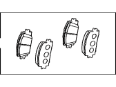 Toyota RAV4 Brake Pad Set - 04465-42150