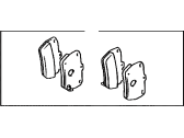 Toyota RAV4 Brake Pad Set - 04466-42050