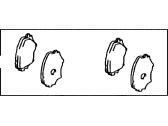 Toyota RAV4 Brake Pad Set - 04465-42130