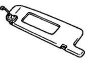 Toyota Genuine 74310-06450-C0 Visor Assembly