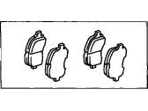 Toyota Avalon Brake Pad Set - 04465-33121