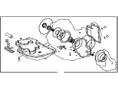 Toyota Camry Automatic Transmission Overhaul Kit - 04351-44010
