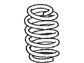 Scion iM Coil Springs - 48231-12D70