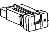 Toyota 84751-47051 Seat Heater Switch