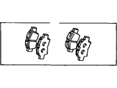 Scion Brake Pad Set - 04465-52210