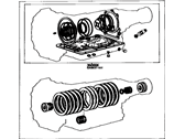 Toyota Celica Automatic Transmission Overhaul Kit - 04352-14010