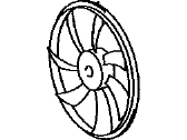 Scion Fan Blade - 16361-28360