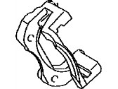 Toyota 47721-02410 Disc Brake Caliper Bracket