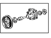 Toyota Paseo Water Pump - 16110-19106