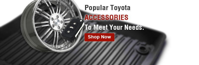 Popular Toyota accessories to meet your needs